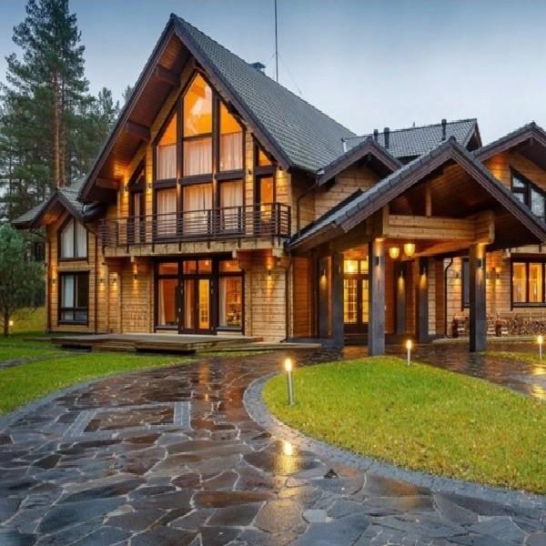Деревянный дом - экологично и экономично