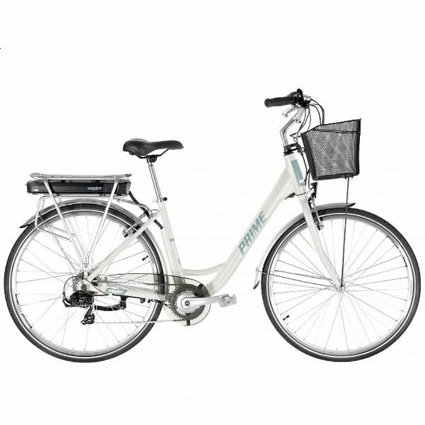 Электровелосипед с корзиной - отличный подарок