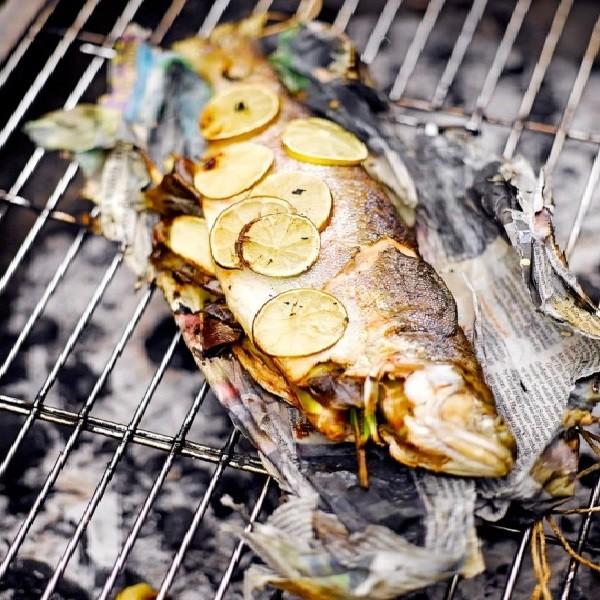Жареная рыба на гриле как приготовить
