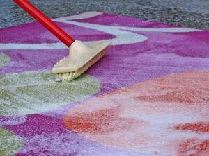 Чистка ковров без химикатов