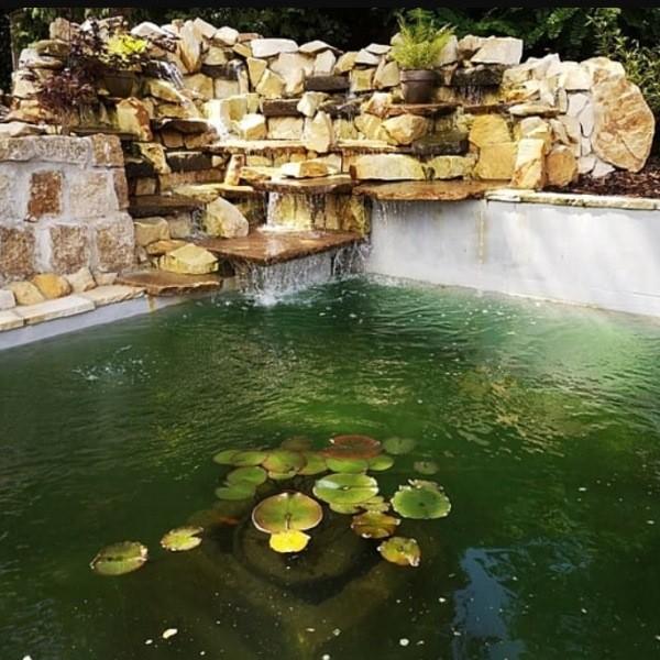 Как сделать циркуляцию воды в пруду
