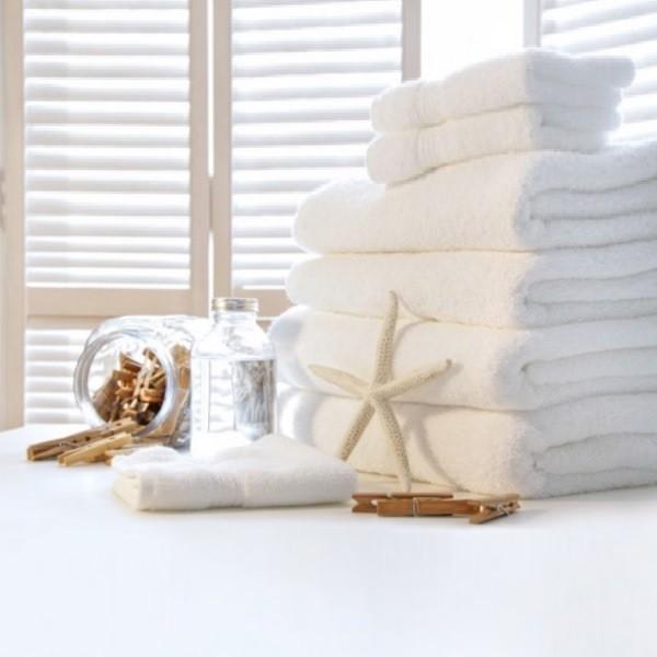 Как отбелить старые полотенца