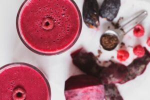 Смузи из свеклы и малины - стакан жидкого здоровья