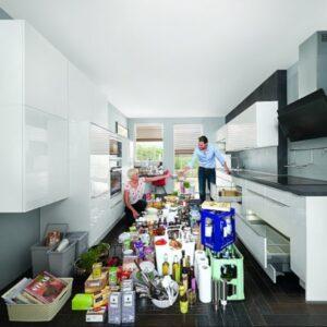 Организация пространства на кухне и идеи для хранения
