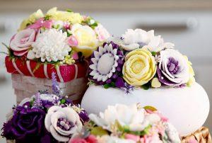 Цветы из мыла могут стать оригинальным подарком