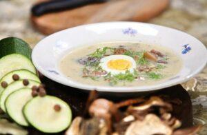 Приготовить суп из кабачков очень просто