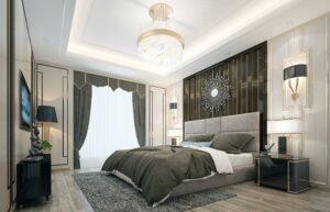 Драгоценность спальни - люстра