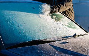 Замерзание лобового стекла и окон автомобиля