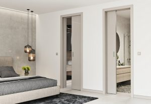 Раздвижные двери - выбираем конструкционный корпус