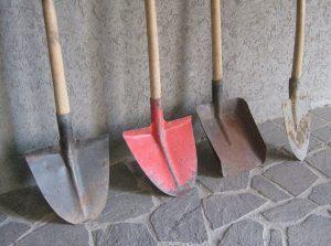 Применение лопаты