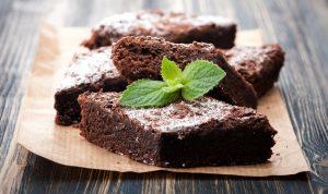 Шоколадные пирожные без сахара