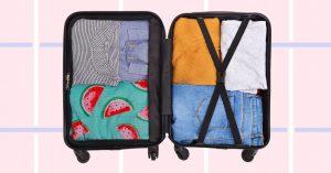 Как правильно сложить одежду в чемодан