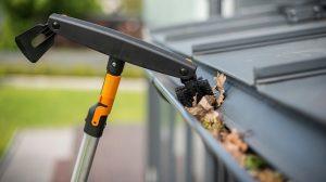 Уникальная система сменных насадок QuikFit для уборки сада