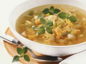 Суп из кольраби и картофеля