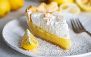 Свежий лимонный пирог