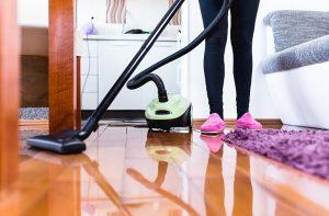 Следующий шаг связан с уборкой пыли