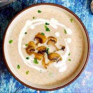 Готовим полезный суп из майских грибов