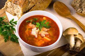 Суп из майских грибов - рецепт