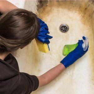 Как очистить старую ванну, чтобы она была как новая