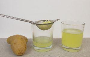 Как сделать картофельный сок