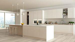 Белая мебель на кухне - правильный уход, чтобы сохранить яркий цвет 2