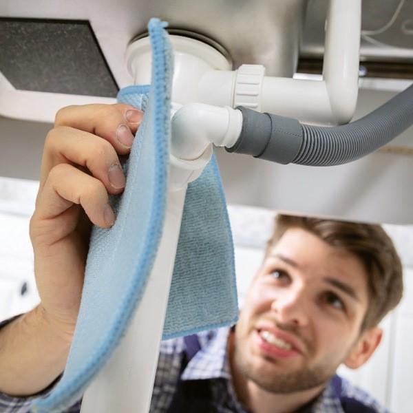 Как почистить сифон под раковиной