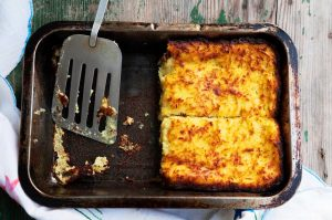 Как запечь картофельные оладьи в духовке