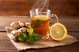 Имбирный чай для детоксикации легких