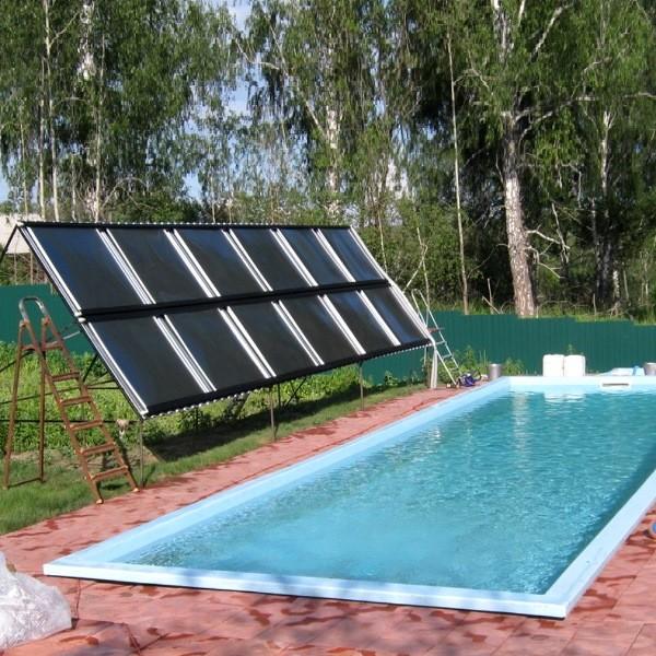 Фотоэлектрический нагрев воды в бассейне