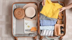 Как сложить вещи в чемодан правильно