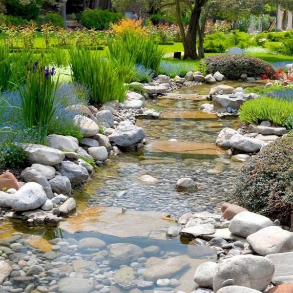 Камни в саду украсят ваш участок
