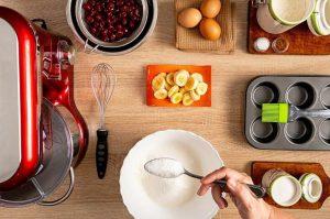 Легкий рецепт маффинов - основное сырье