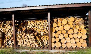 Место для постройки дровяного сарая